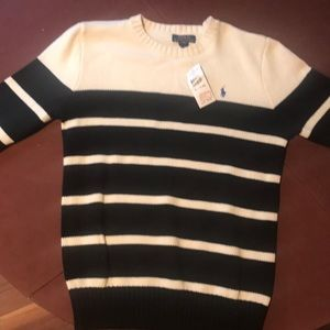 New Polo Sweater with tag